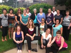 Reiki Workshop Class Photo with Lisa Guyman