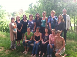 Reiki Class Photo with Lisa Guyman - Denver, Colorado
