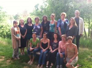 Reiki Class Photo with Lisa Guyman - Denver, Colorado