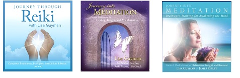 Lisa Guyman meditation and Reiki CDs