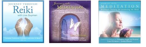 Lisa Guyman meditation and Reiki CDs