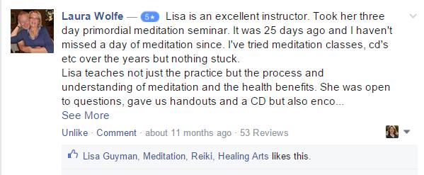 meditation and reiki classes